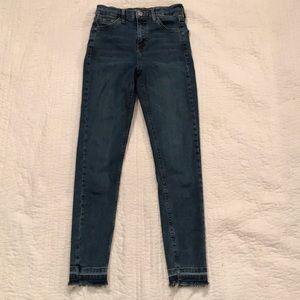 TopShop Moto Jamie High Rise Skinny Jeans